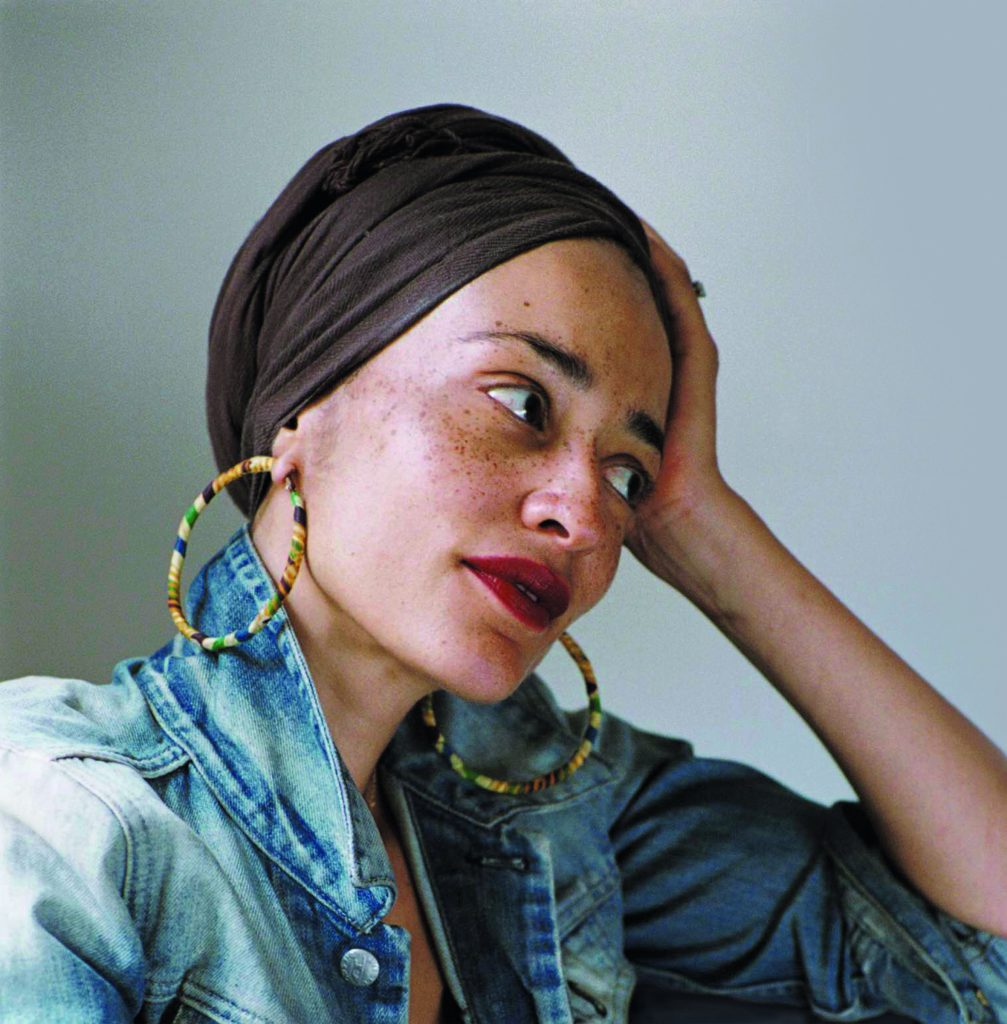 Zadie Smith, Fotos von Dominique Nabokov