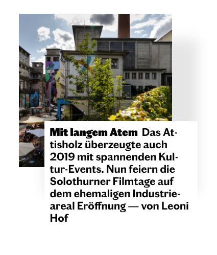 Ausschnitt Bericht Attisholz, Komplex, Halter AG